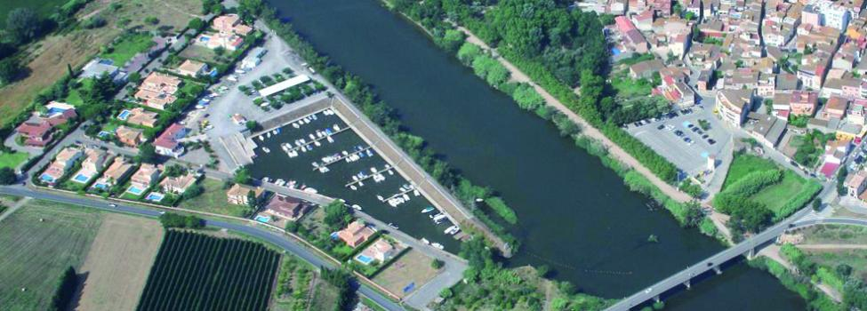 Foto aérea del Puerto de Sant Pere Pescador