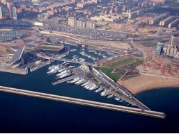 Marina port Fòrum